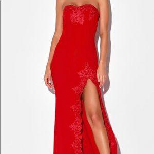 BRAND NEW WITH TAGS Long Red Dress
